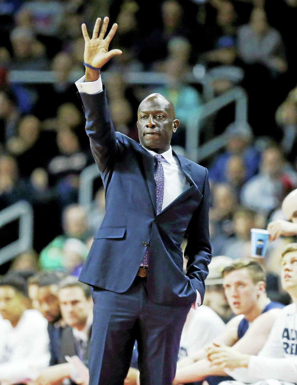 Yale men's basketball coach James Jones.