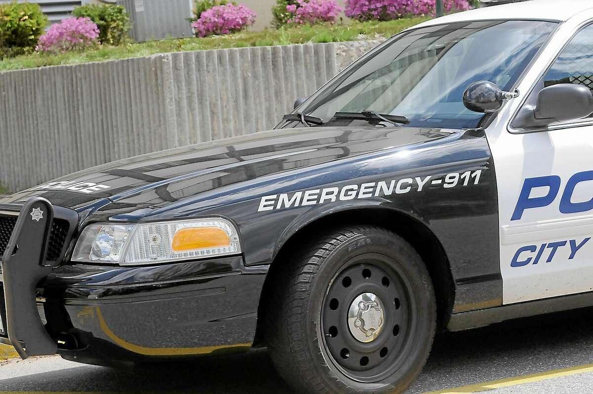 A Torrington police cruiser.