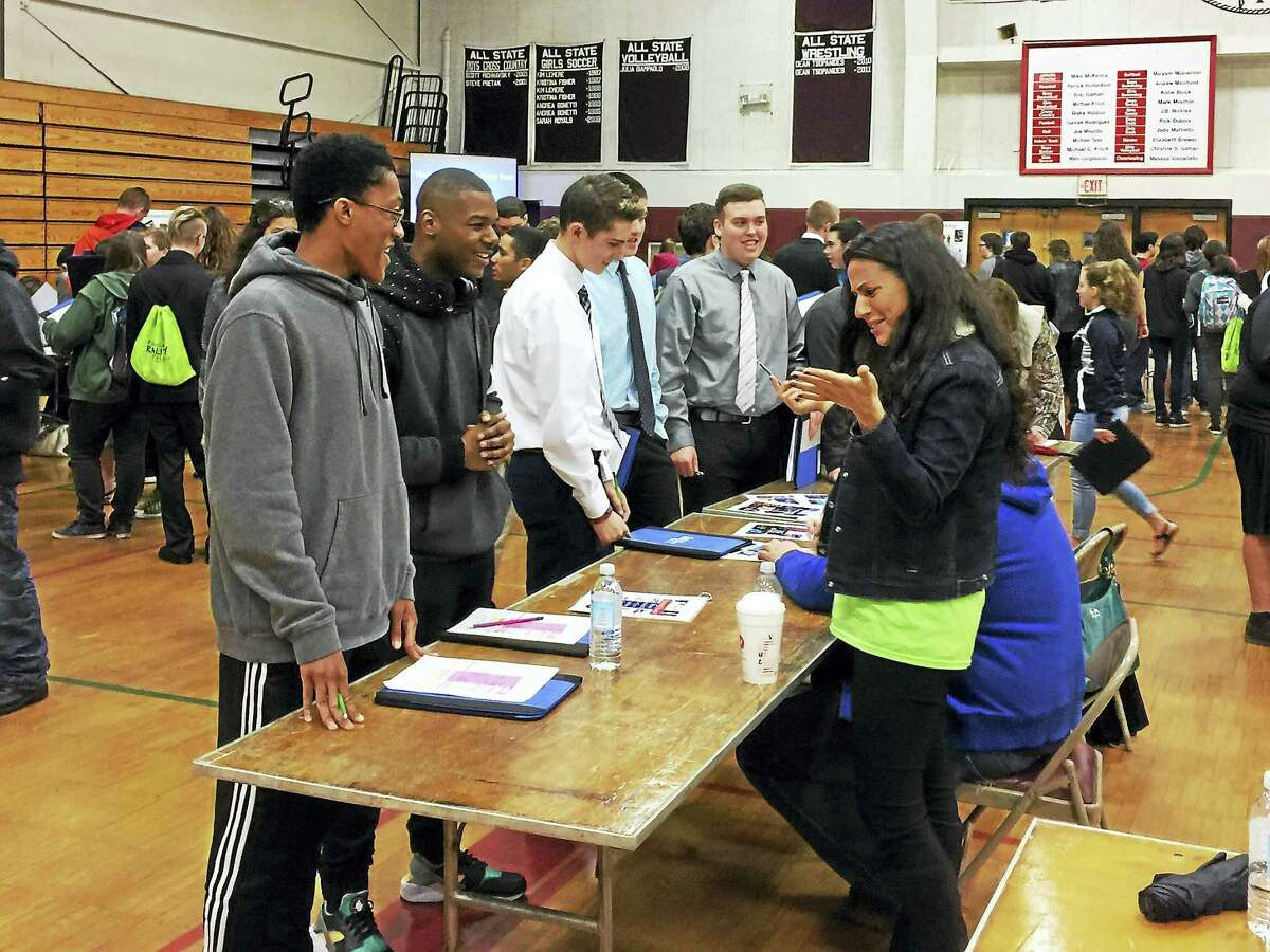 Local students considered the realities of budgeting Wednesday, as the annual Financial Reality Fair was held at Torrington High School.