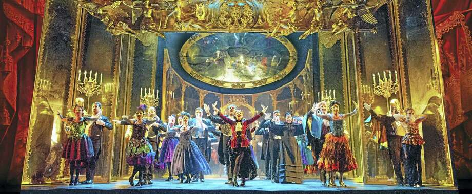 """A scene from Andrew Lloyd Webber's """"The Phantom Of The Opera."""" The tour makes a stop at the Palace Theater in Waterbury in November. Tickets go on sale May 15. Photo: Contributed Photo"""