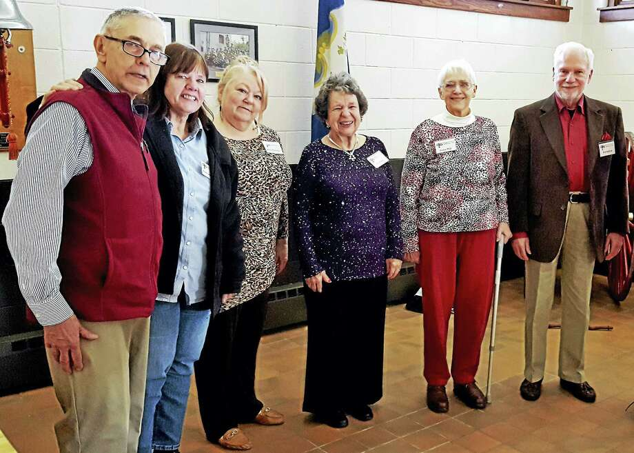 Contributed photo  The Naugatuck Valley Genealogy Club recently elected the following officers for 2017: Paul Hadzima, president; Irma Carper-Miller, vice-president; Louise Wills, treasurer; Eva Walter, corresponding secretary; Kate Costello, recording secretary; and Bob Rafford, advisor. Photo: Digital First Media