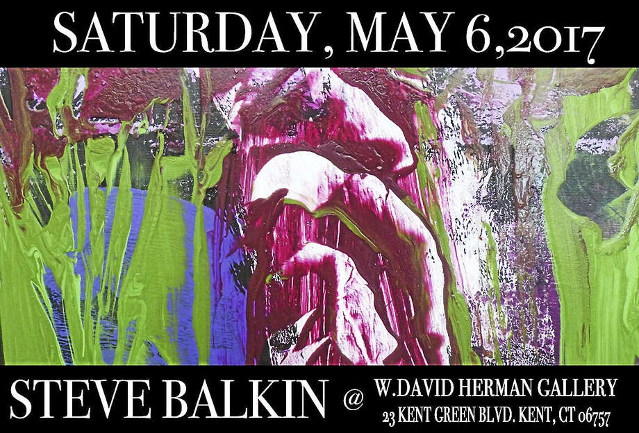 Paintings by Steve Balkin are featured at the W. David Herman Gallery in Kent. Photo: Contributed Photos