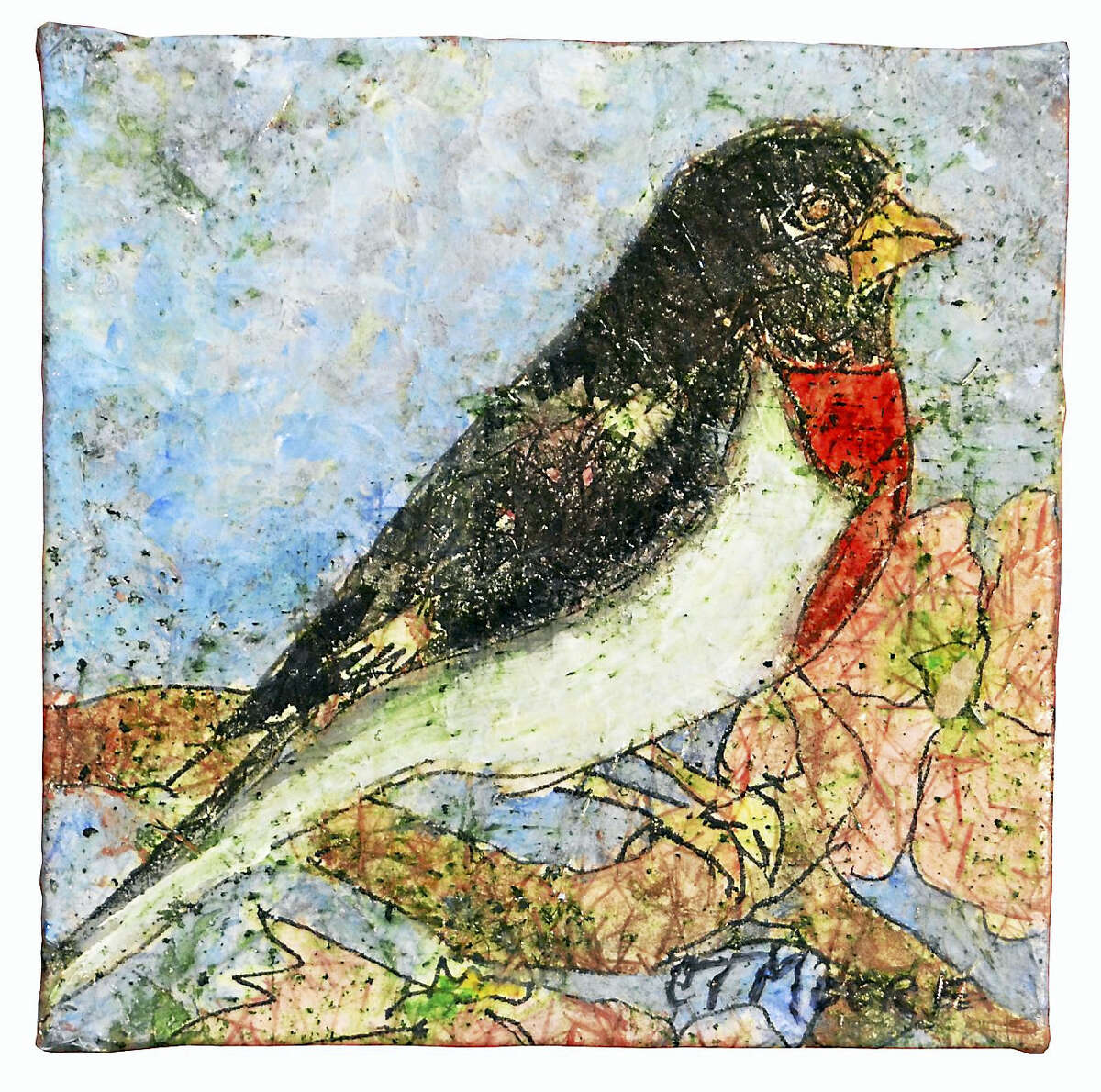 Carol Moore, a well-known artist from Bantam, is the featured artist in the Oliver Wolcott Library gallery for the months of May and June.