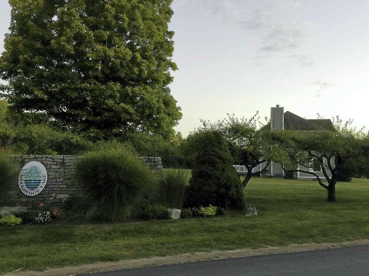 Ben Lambert - The Register Citizen The Woodridge Lake housing development, as seen in October.