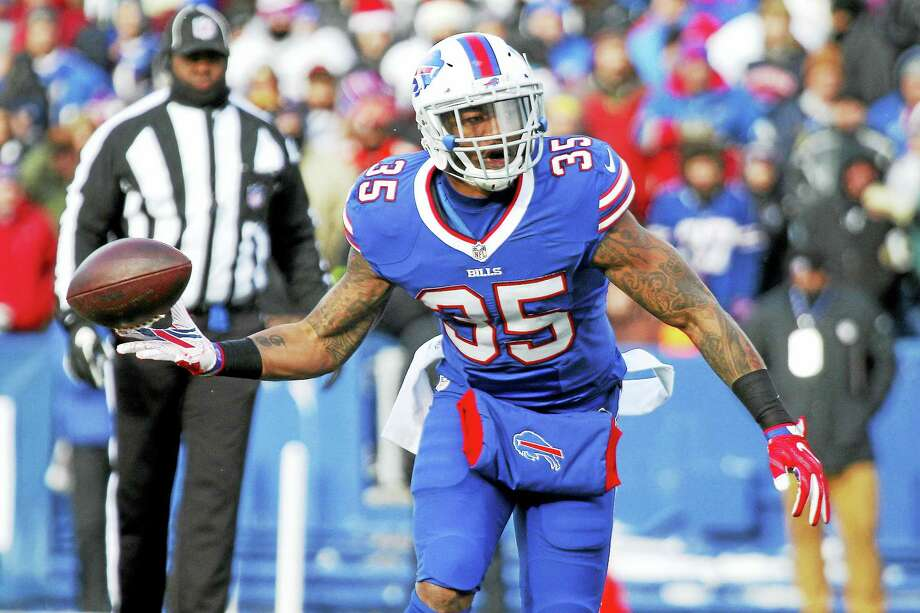 Former Buffalo Bills running back Mike Gillislee will be a member of the Patriots next season. Photo: The Associated Press File Photo  / FR171450 AP