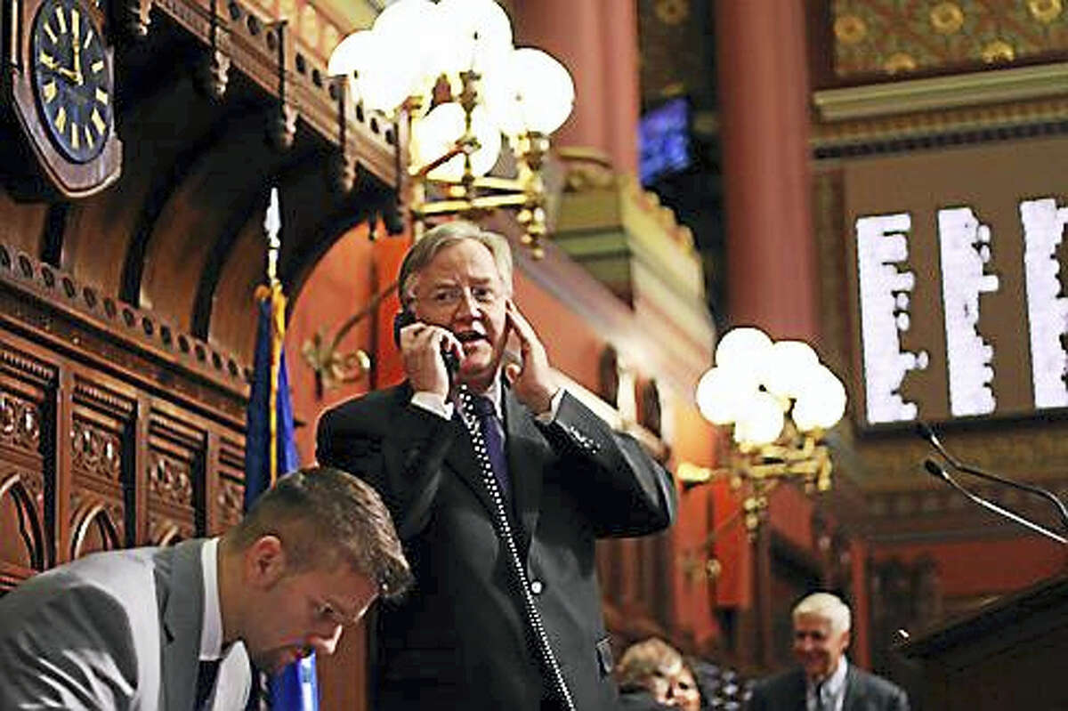 Outgoing House Speaker Brendan Sharkey