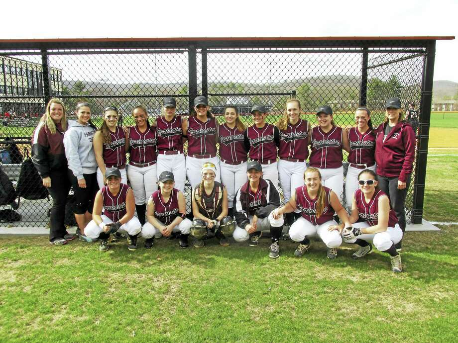 Torrington High School's softball team cemented its bonds with a spring break trip to Florida last week, going undefeated in five games at the ESPN sports complex. Photo: Photo By Peter Wallace