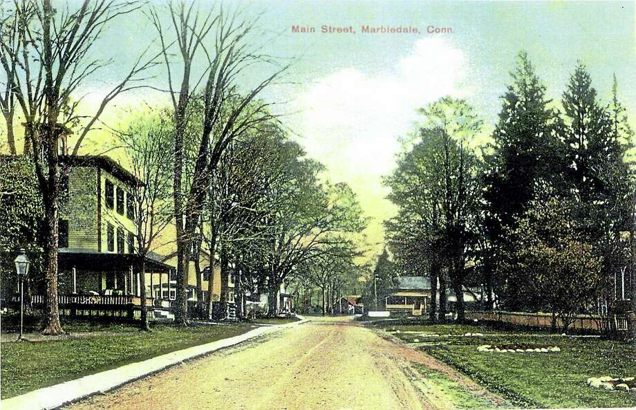 Contributed photoMarbledale postcard, Route 202 looking east, circa 1910. Photo: Digital First Media