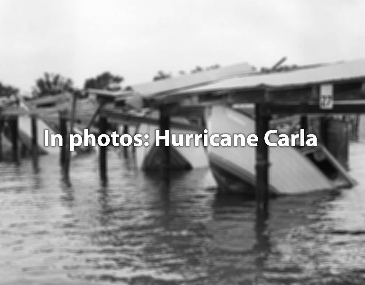 See the damage done to Texas by Hurricane Carla