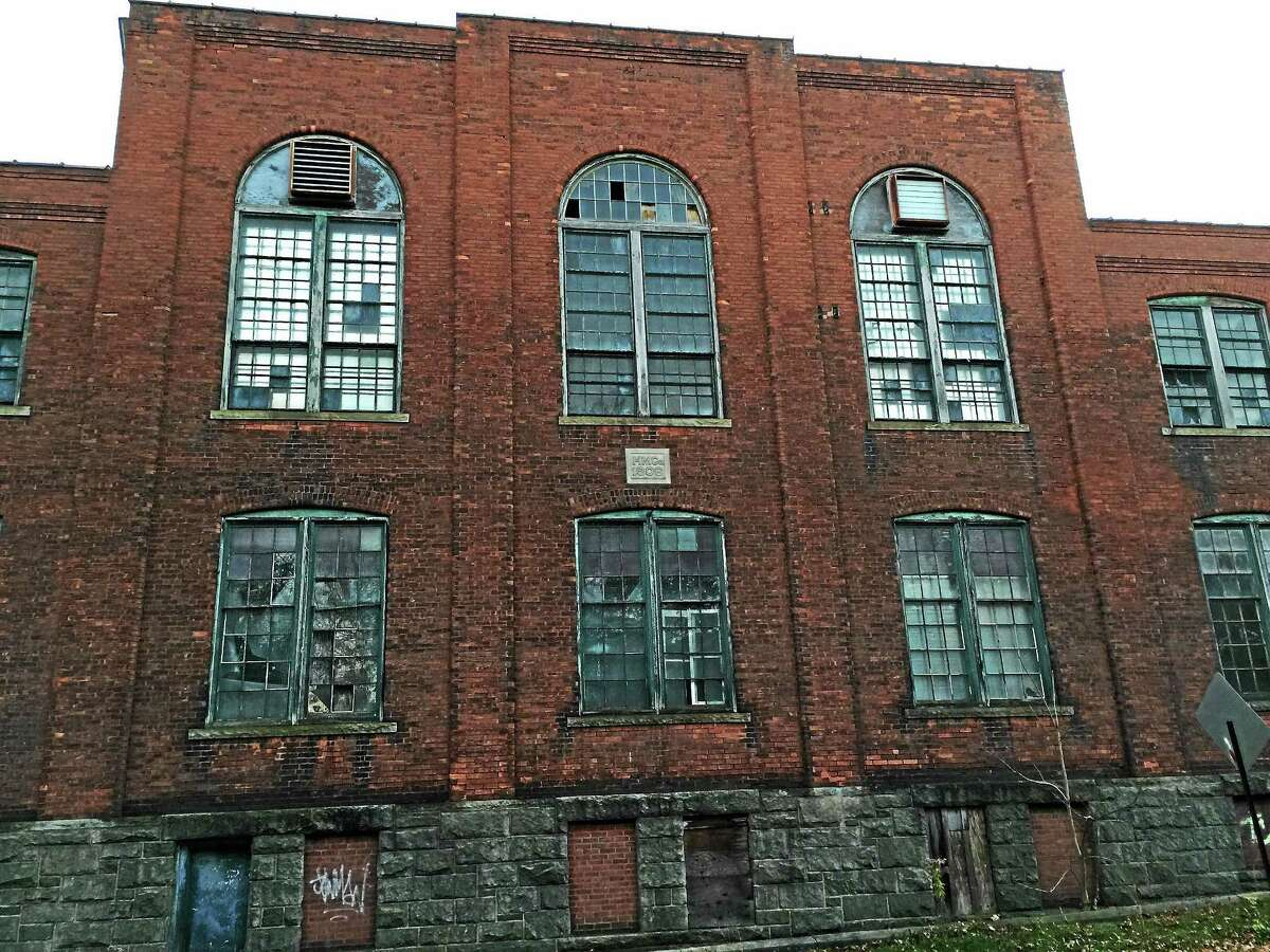Ben Lambert - The Register Citizen One of the buildings at the former Hendey Machine Company site, included as part of a grant application for state funds to develop a strategy for city brownfields.