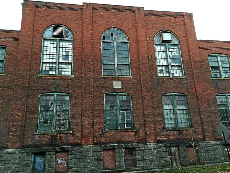 One of the buildings at the former Hendey Machine Company site, included as part of a grant application for state funds to develop a strategy for city brownfields. Photo: Journal Register Co.
