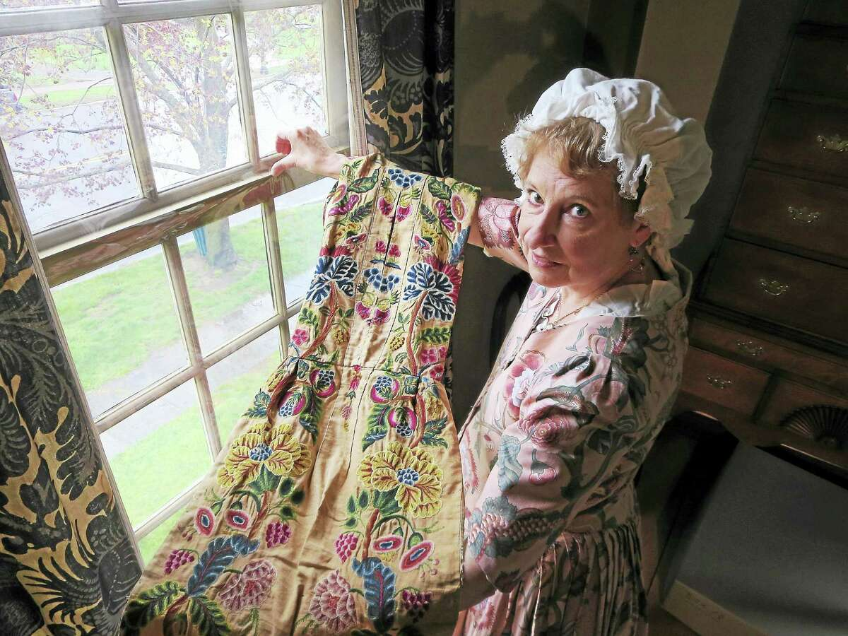 Vintage textiles are featured in the Webb-Deane-Stevens Museum's 'Textile Treasures II Digging Deeper Tour on Saturday.