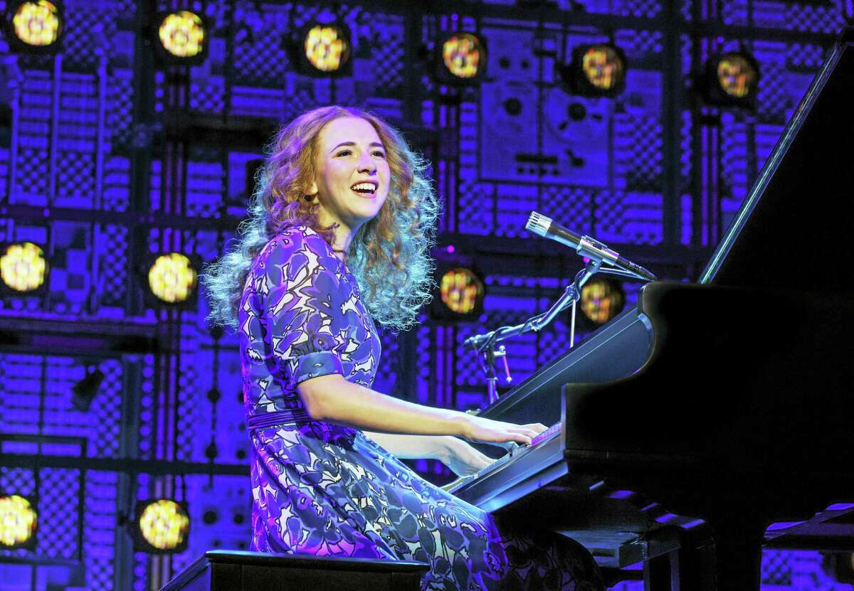 "Julia Knitel in ""Beautiful — The Carole King Musical."""