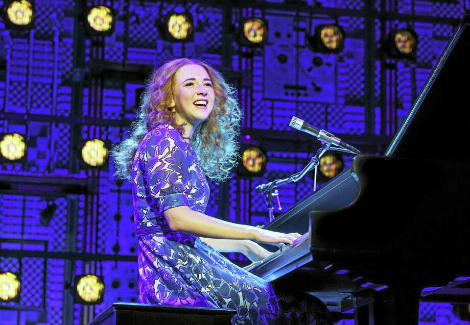 "Julia Knitel in ""Beautiful — The Carole King Musical."" Photo: Joan Marcus Photo  / ©2016 Joan Marcus"