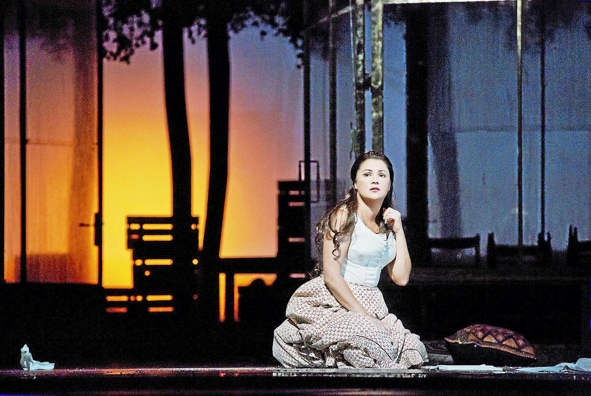 """A scene from """"Eugene Onegin"""" showing live in HD from the Metropolitan Opera in New York City at the Warner Theatre this Saturday."""