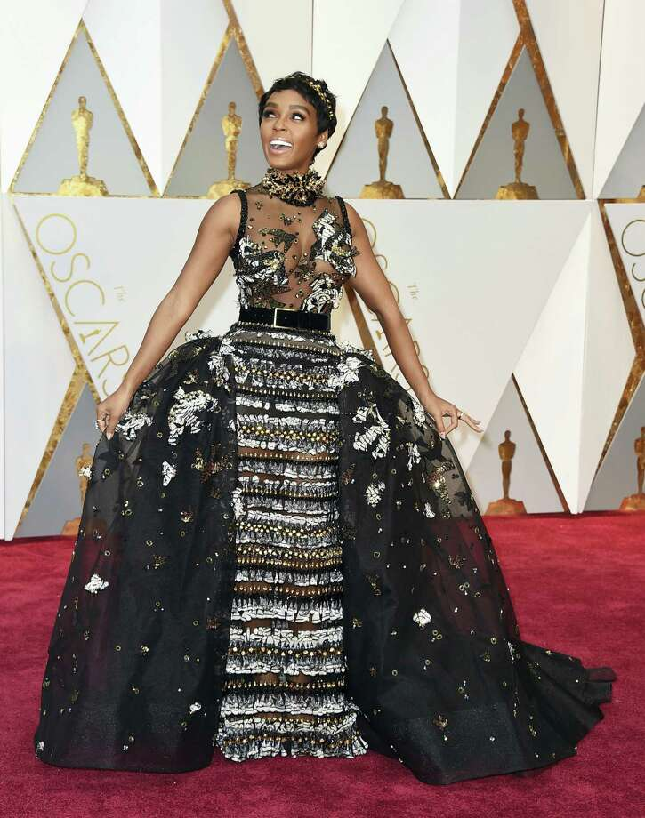 Janelle Monae arrives at the Oscars on Sunday, Feb. 26, 2017, at the Dolby Theatre in Los Angeles. (Photo by Jordan Strauss/Invision/AP) Photo: Jordan Strauss/Invision/AP / 2017 Invision
