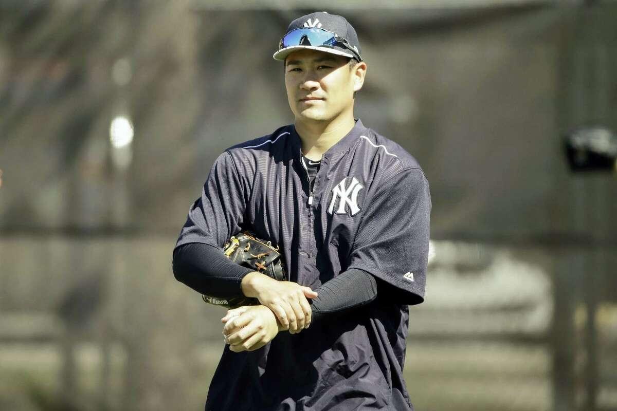 Yankees pitcher Masahiro Tanaka.