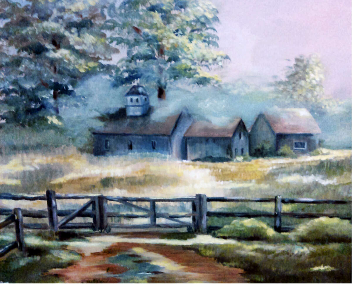Contributed photoPaintings by Joyce Lawton will be shown at the Oliver Wolcott Library in March.