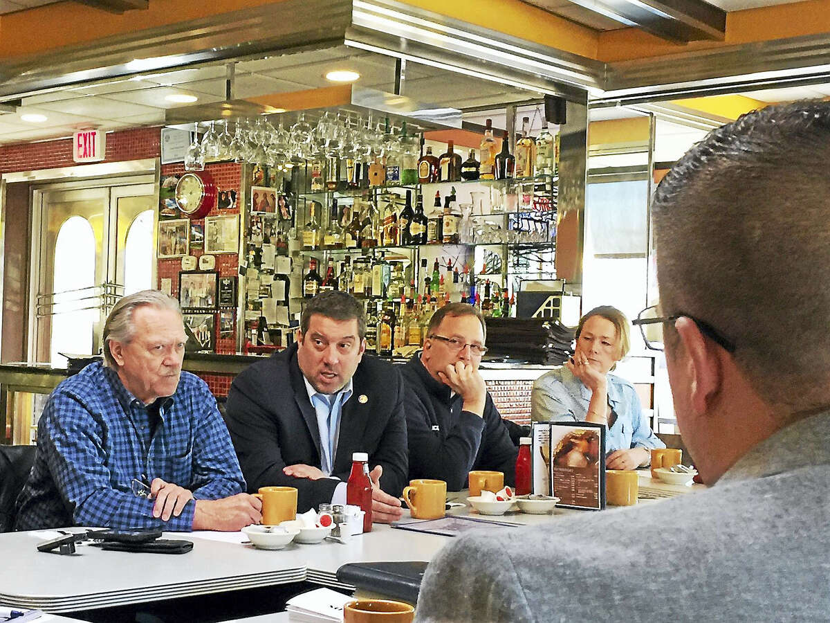 Ben Lambert - The Register CitizenMembers of the Northwest Hills Council of Governments spoke with state legislators Thursday morning during a breakfast meeting.