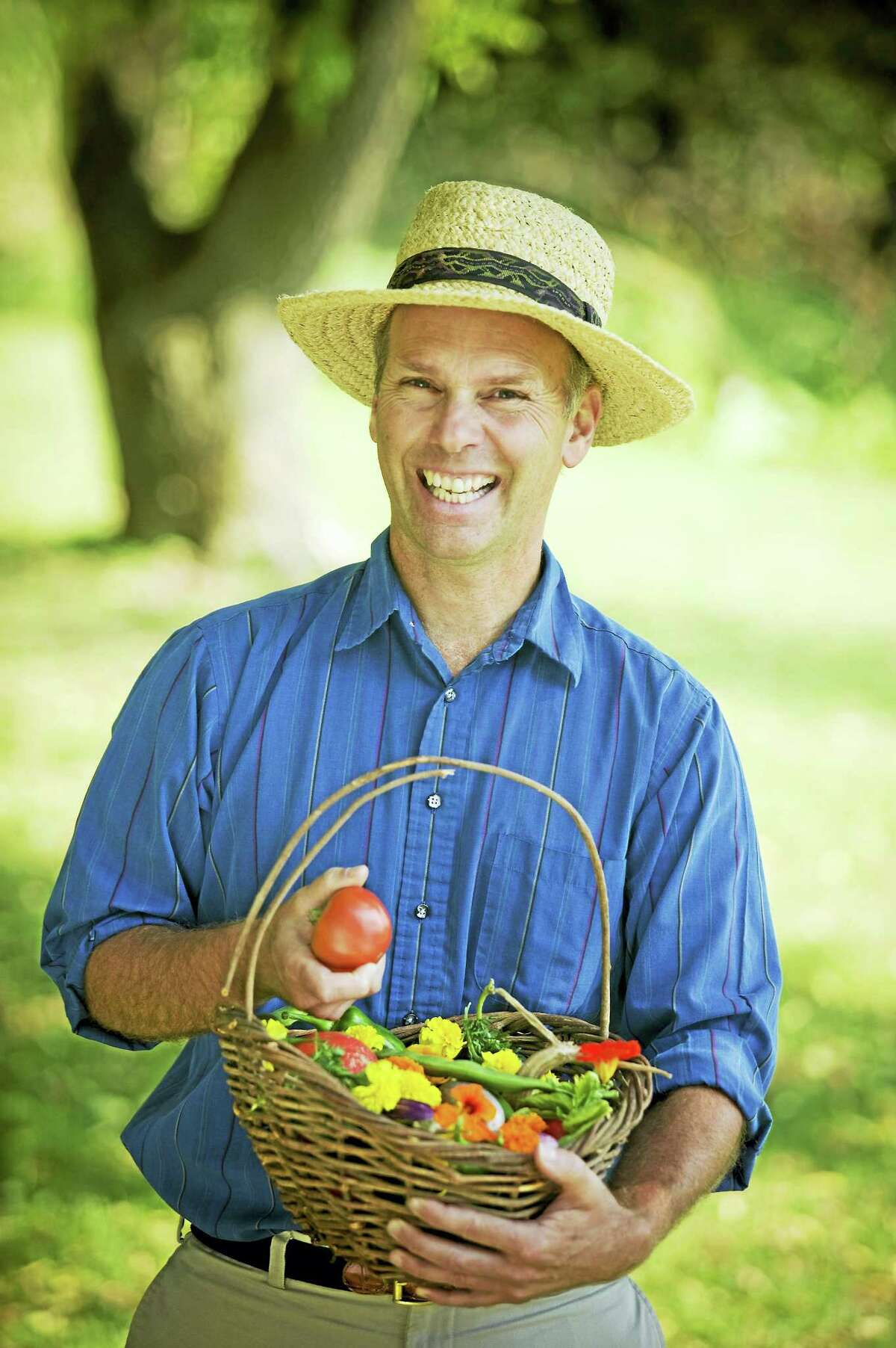 Author and gardening expert Charlie Nardozzi will present 'Foodscaping: A Garden Talk' at the Warner Theatre on May 24.