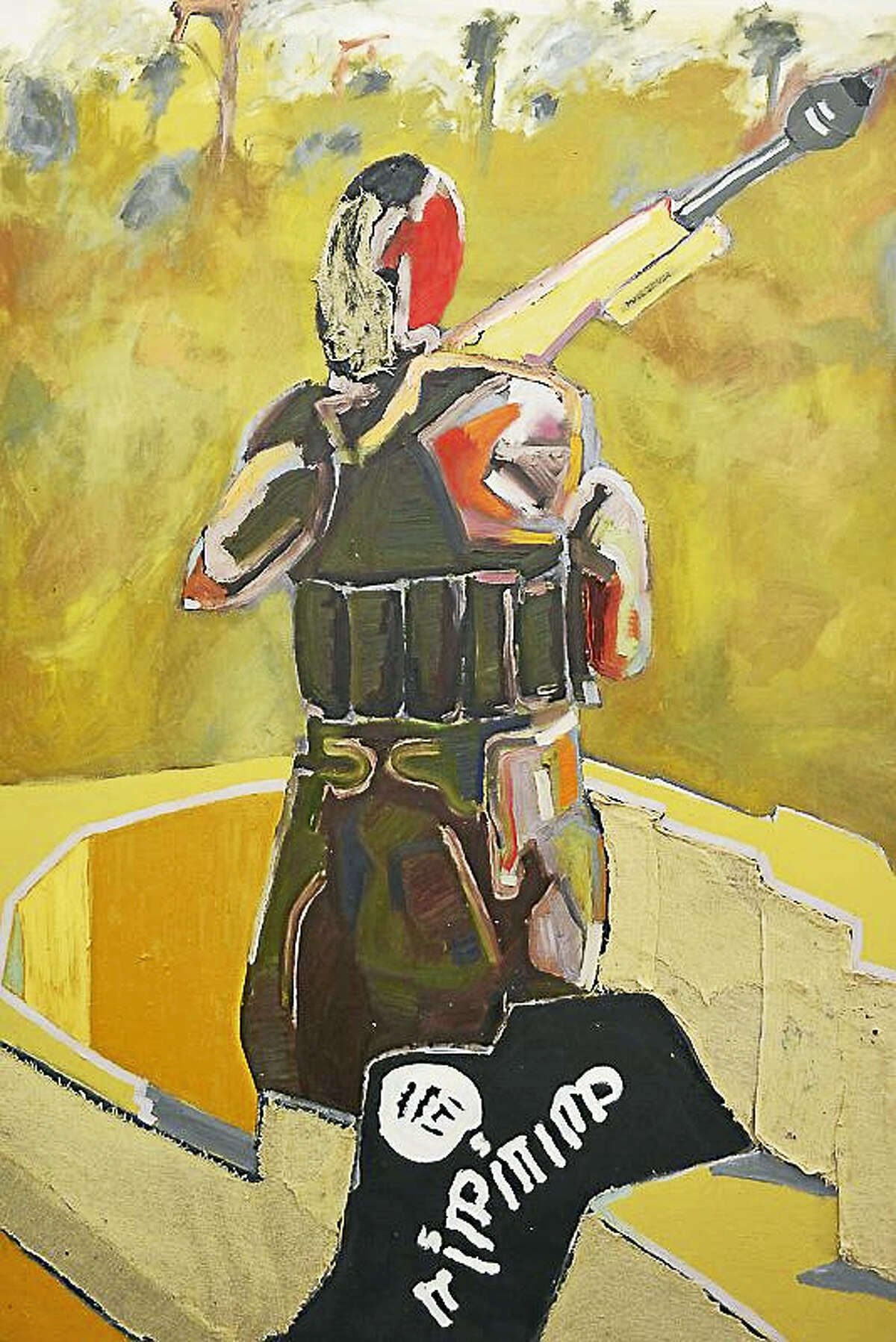Paintings by Jacob Cullers are part of a new show opening in March at the Washington Art Association.