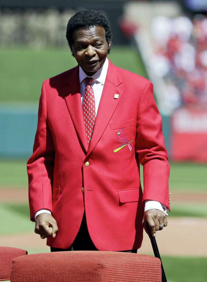 Former St. Louis Cardinals great Lou Brock was recently diagnosed with bone cancer and will miss a scheduled upcoming appearance at Bush Stadium. Photo: The Associated Press File Photo  / Copyright 2016 The Associated Press. All rights reserved. This material may not be published, broadcast, rewritten or redistribu