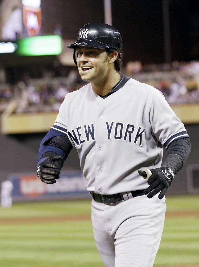 Former Yankee Nick Swisher is joining the group of guest instructors at Yankees' spring training this year. Photo: The Associated Press File Photo  / Copyright 2017 The Associated Press. All rights reserved.