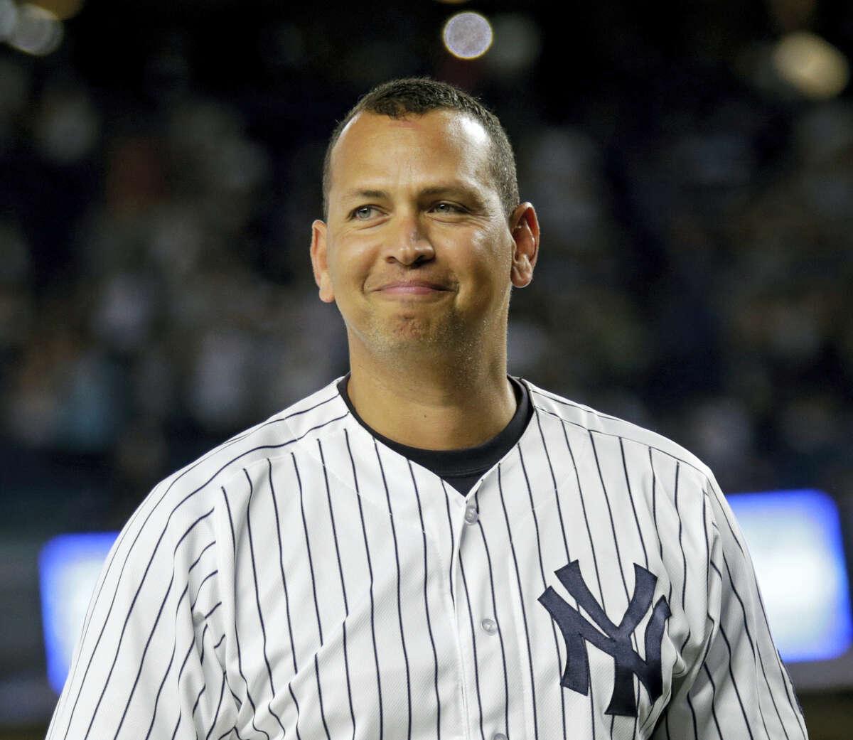 Former Yankee Alex Rodriguez.