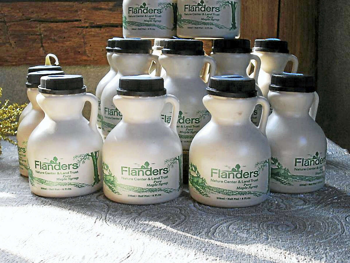 Flanders Nature Center will show its guests how it boils sap into its own maple syrup on weekends starting Feb. 25-26.