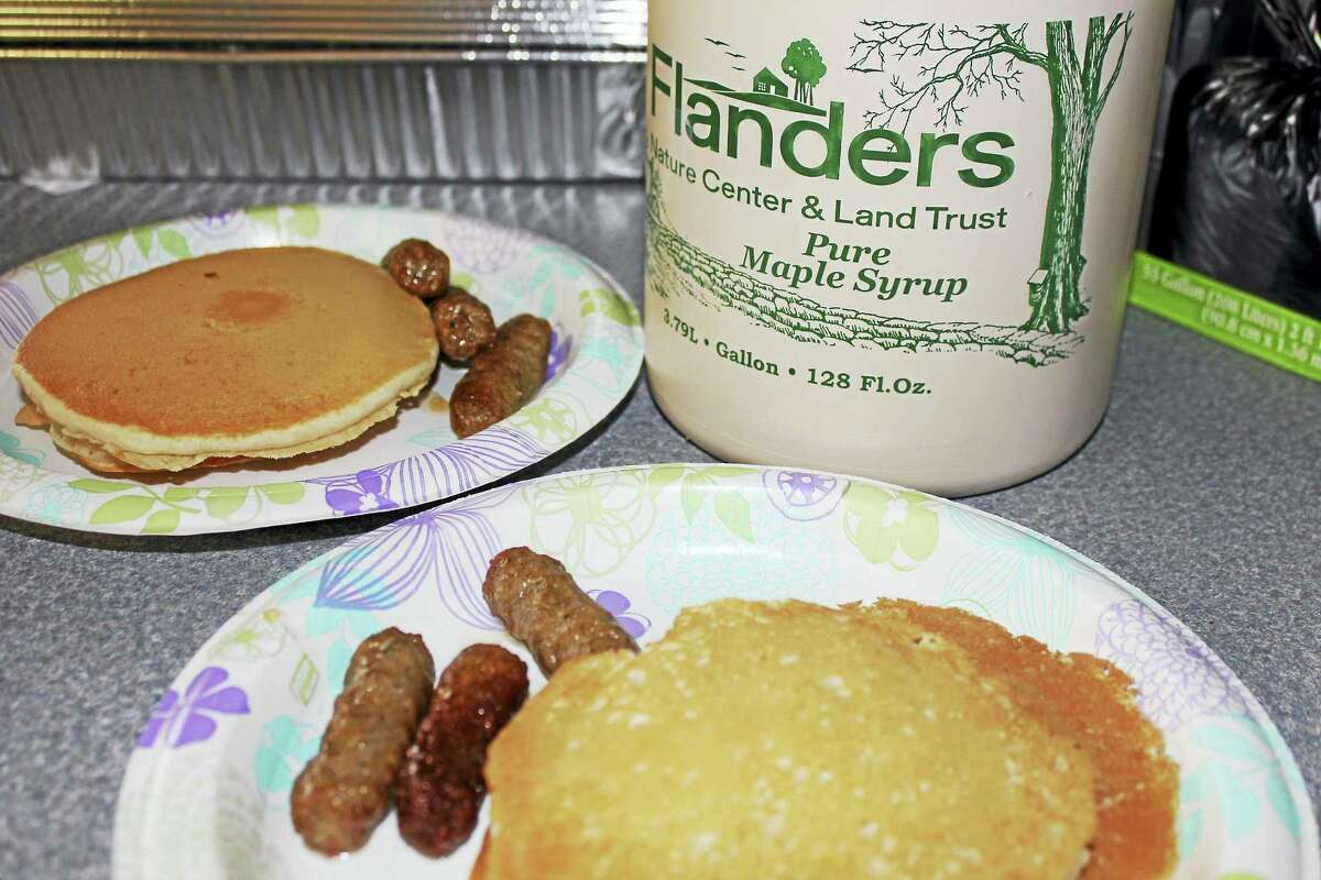Flanders Nature Center will hold a pancake breakfast to showcase its own maple syrup in March.