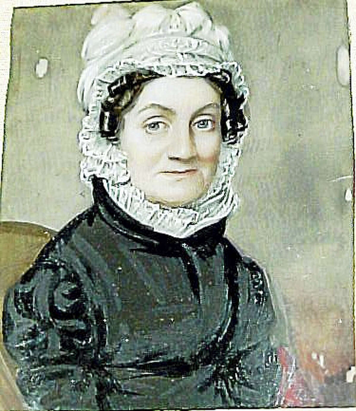 Photo courtesy of the Litchfield Historical Society A portrait of Sarah Pierce is part of the historical society's latest exhibition, opening in April.