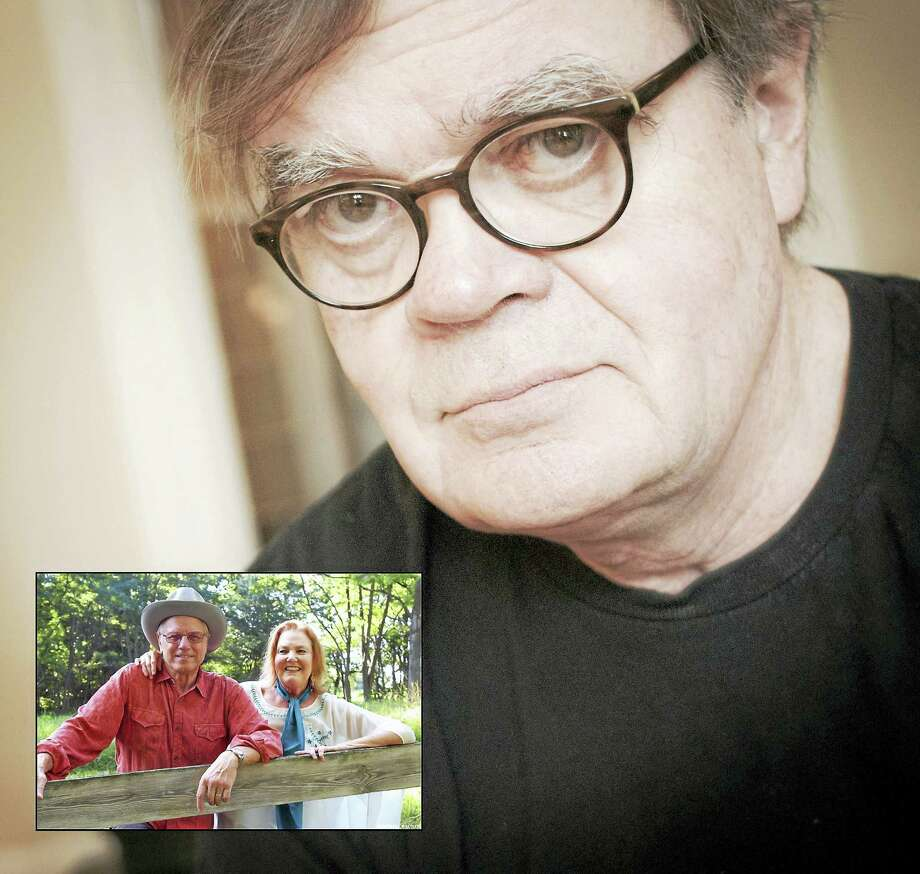 Garrison Keillor and guests Robin and Linda Williams are scheduled to perform at the Warner Theatre on Thursday, Nov. 30. Photo: Contributed Photo