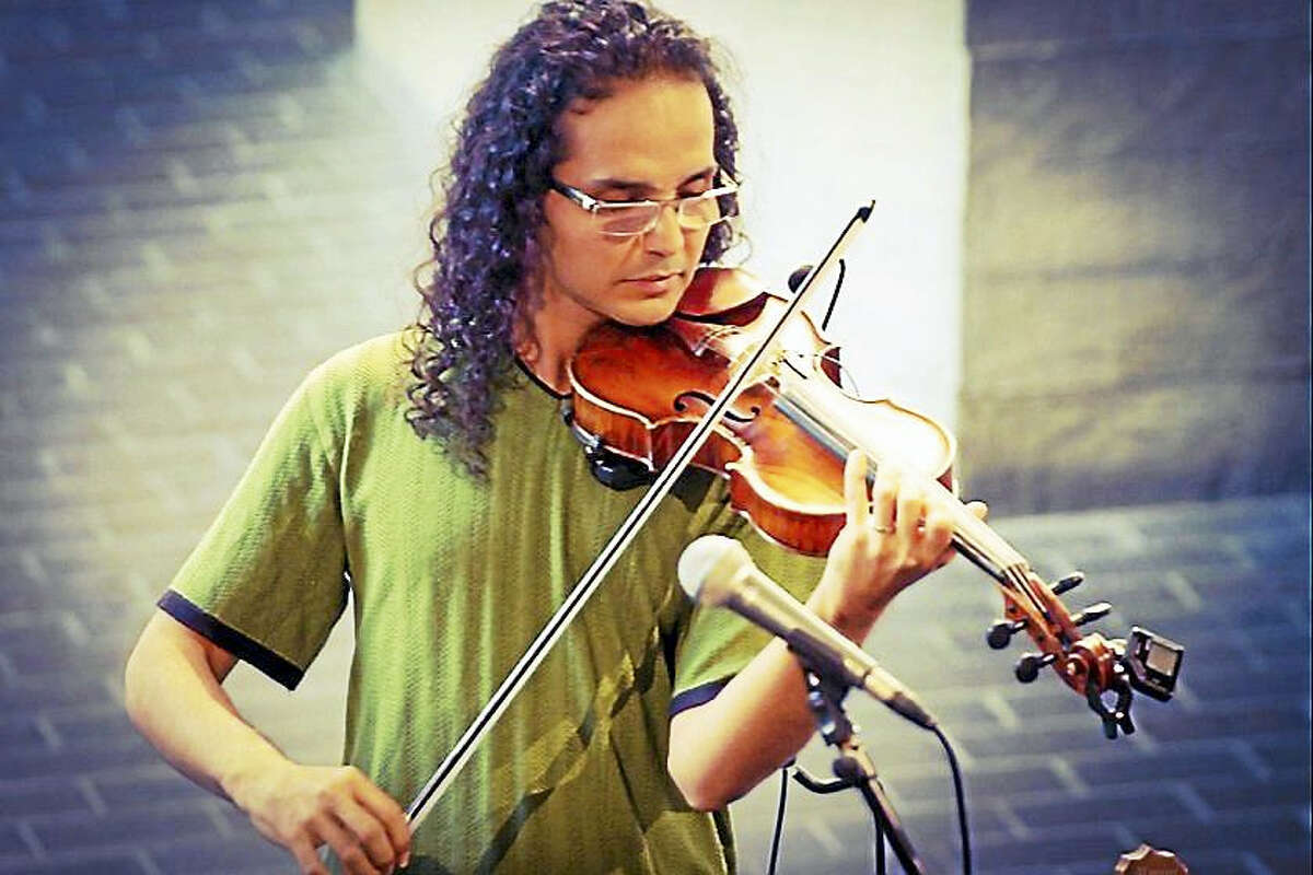 Violinist Felipe Verde, NVCC's Fulbright Scholar, is a featured performer at the upcoming International Arts Festival at Naugatuck Valley Community College.