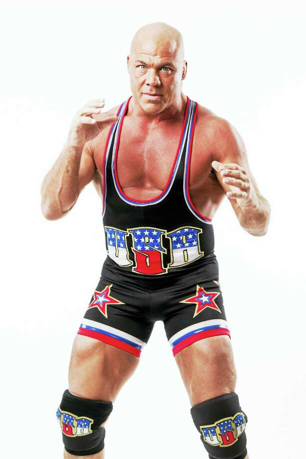Olympian and wrestling champion Kurt Angle is a featured star at the upcoming Wrestlefest at Waterbury High School on March 3. Photo: Contributed Photo