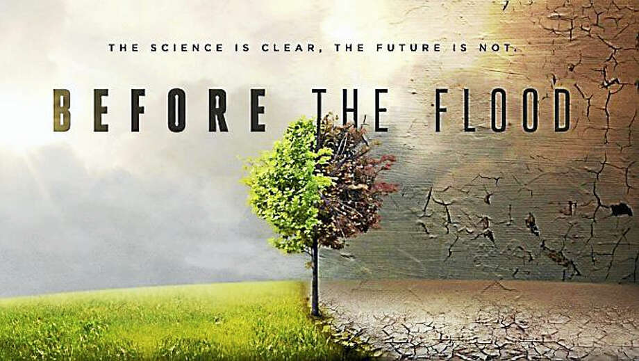 National Geographic's new film on climate change, Before The Flood, will be screened at the Gunn Memorial Library on March 2. Photo: Contributed Photo