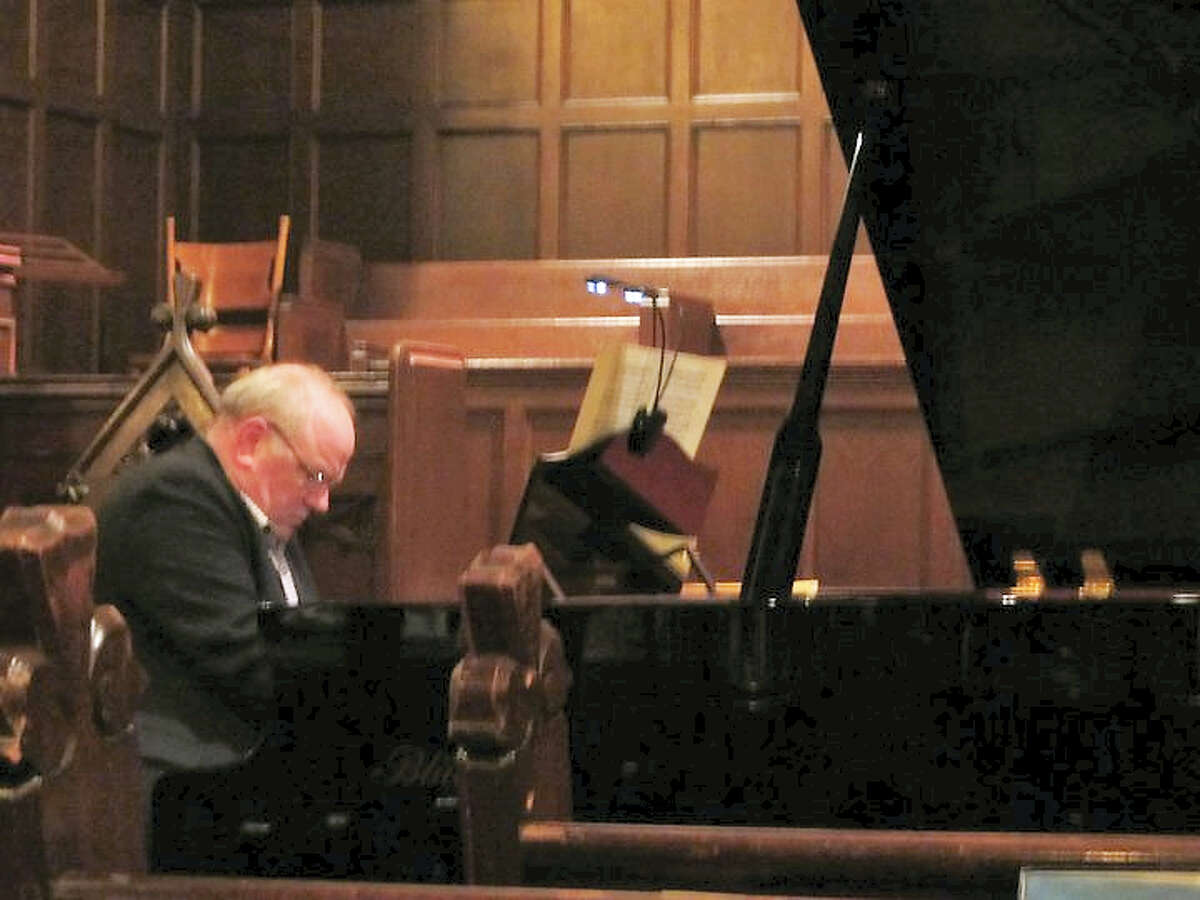 Contributed photo Organist, pianist conductor and artist Robert Fertitta will perform a piano concert of Brahms music at St. Michael's church in Litchfield on March 5.
