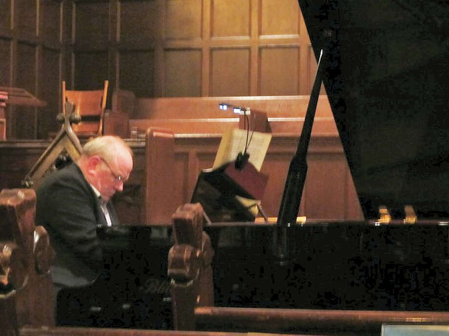 Contributed photo Organist, pianist conductor and artist Robert Fertitta will perform a piano concert of Brahms music at St. Michael's church in Litchfield on March 5. Photo: Digital First Media