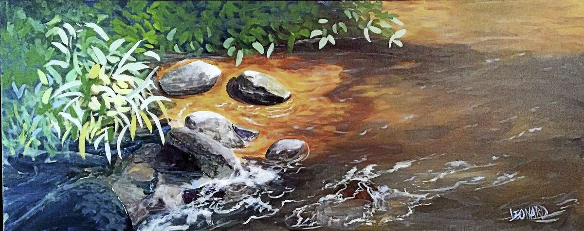 """""""By the Stream."""""""