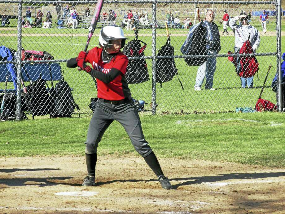 Northwestern's Marissa Swartley drove in the go-ahead runs in the Highlanders' win at Nonnewaug on Saturday. Photo: Photo By Peter Wallace