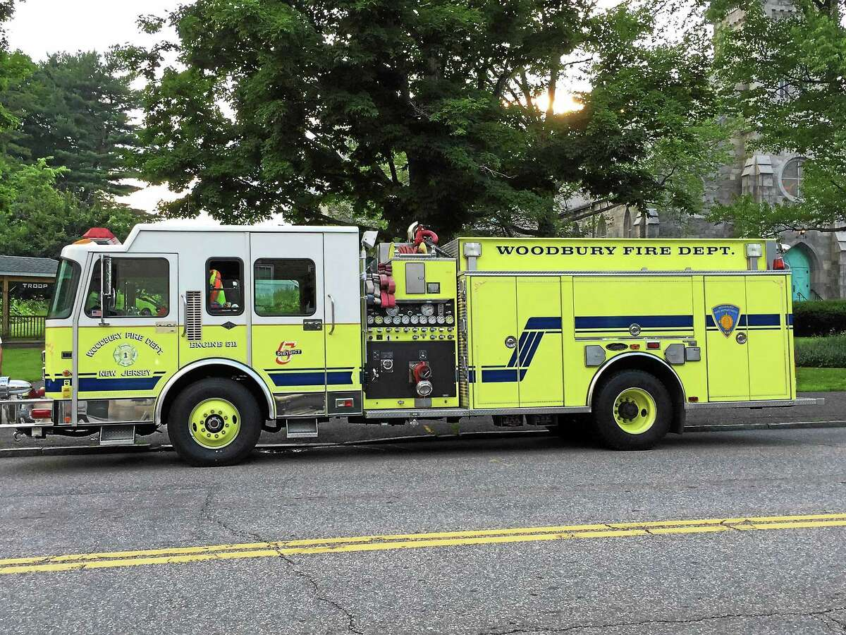 The truck that was purchased by the Burrville Volunteer Fire Department, which serves the residents of Torrington.