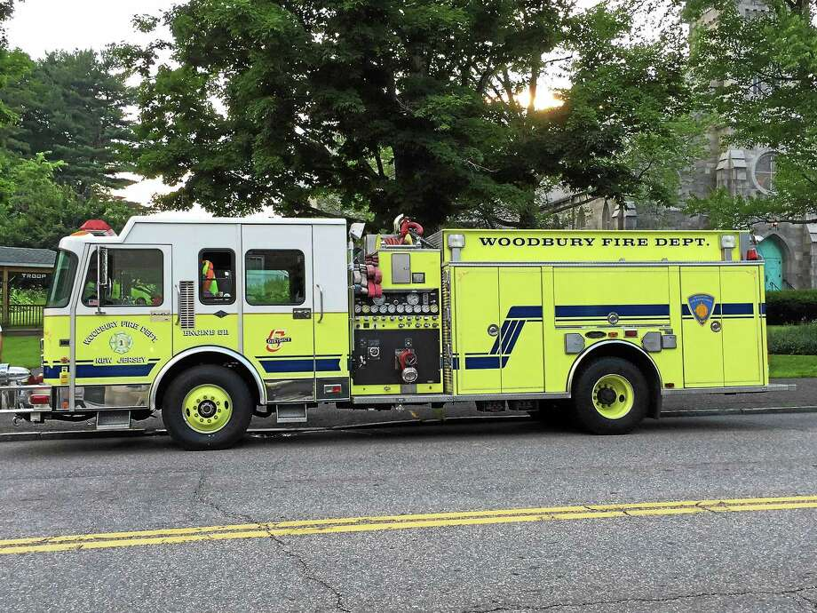 The truck that was purchased by the Burrville Volunteer Fire Department, which serves the residents of Torrington. Photo: Journal Register Co.