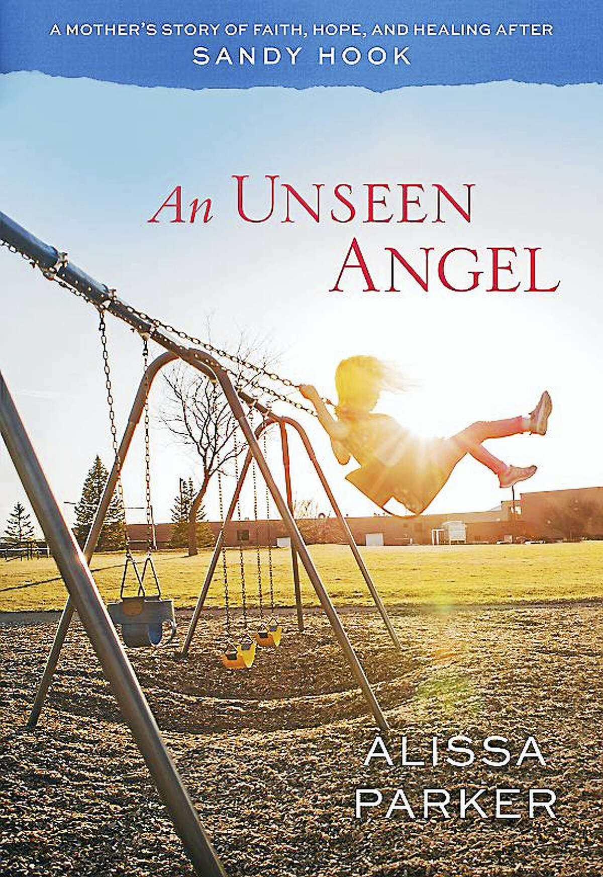 """The cover of the book, """"An Unseen Angel,"""" written by Alissa Parker about losing her oldest daughter Emilie, 6, who was killed in the shootings at Sandy Hook Elementary School."""