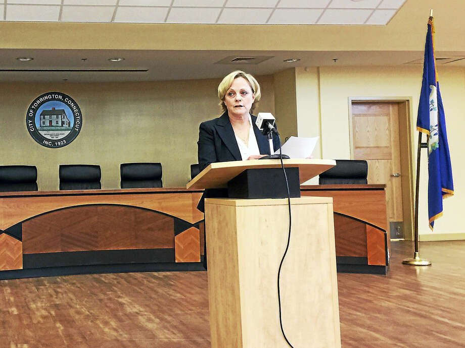 Torrington Mayor Elinor Carbone announced Thursday that she will seek a second term in office. Photo: Ben Lambert — The Register Citizen
