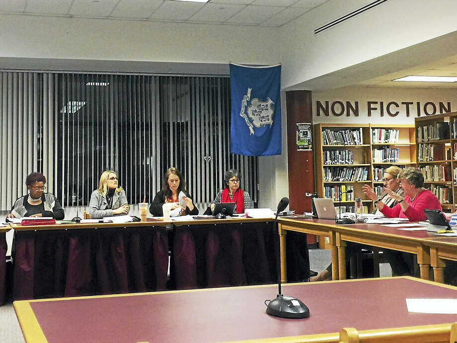 The Torrington Board of Education finalized a budget proposal for the 2017-18 fiscal year Wednesday evening. Photo: Ben Lambert — The Register Citizen