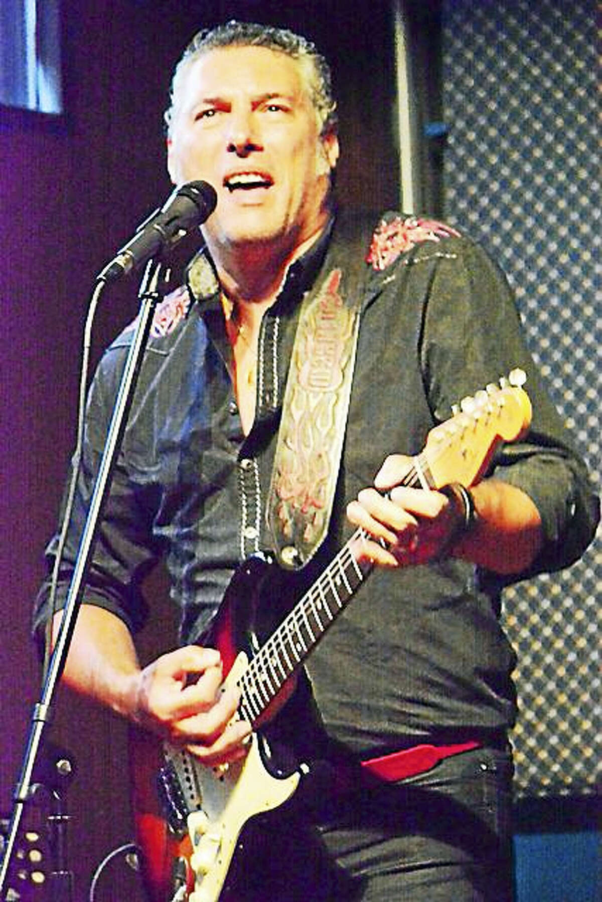 Roberto Morbioli, an Italian-born blues guitarist, travels through the state this month.