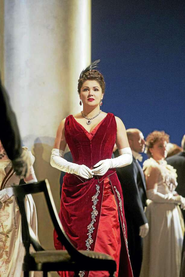 """Anna Netrebko as Tatiana in Tchaikovsky's """"Eugene Onegin."""" The opera will be broadcast live in HD at the Warner Theatre on Saturday, April 22. Photo: Photos Courtesy Of The Metropolitan Opera  / @2013"""