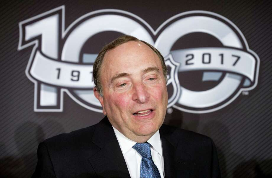NHL Commissioner Gary Bettman. Photo: The Associated Press File Photo  / The Canadian Press