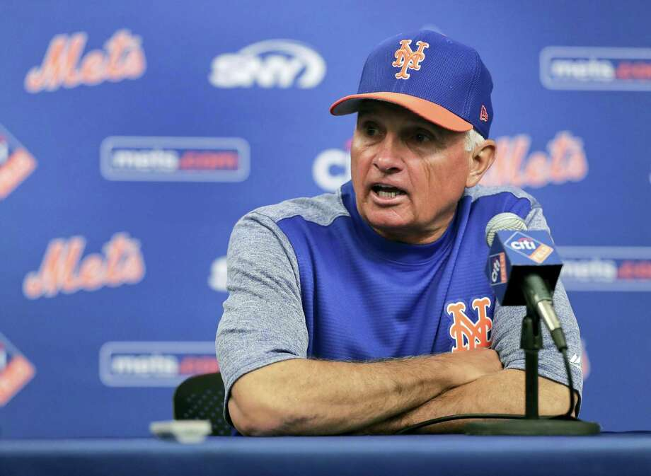 New York Mets manager Terry Collins. Photo: Julie Jacobson — The Associated Press  / Copyright 2017 The Associated Press. All rights reserved.
