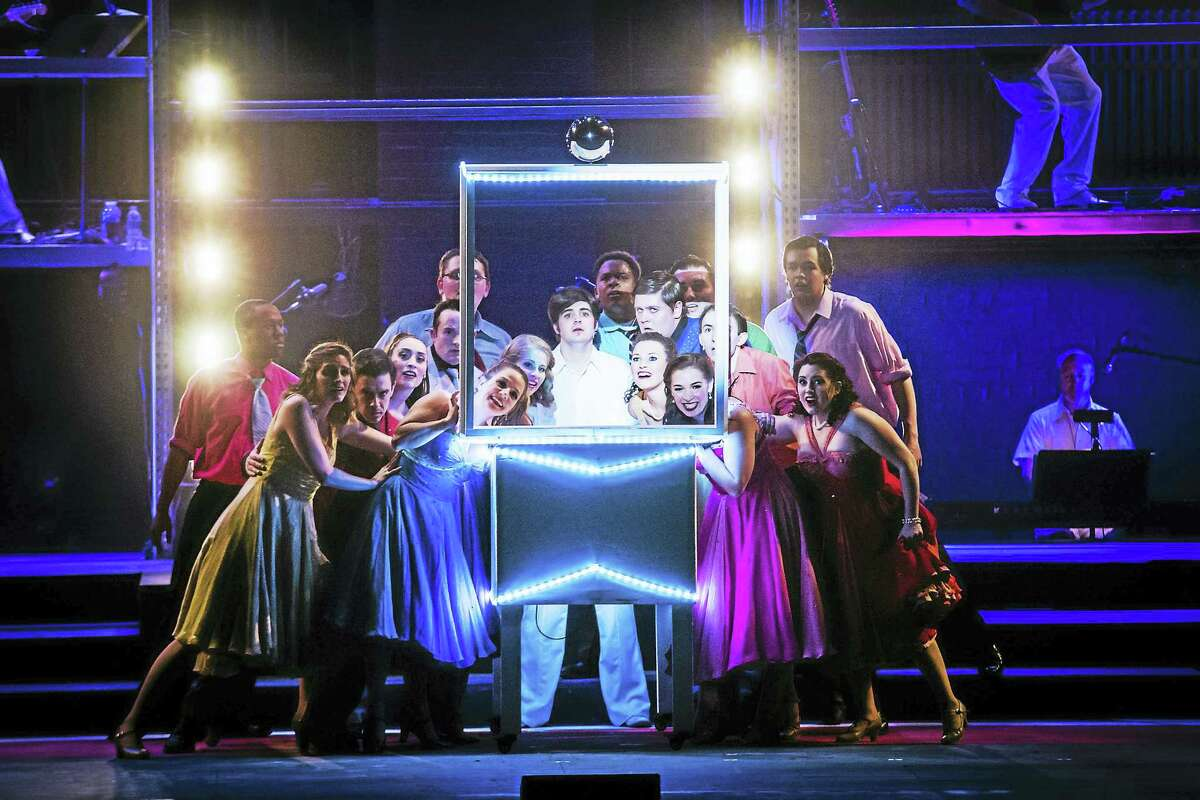 Photos by Mandi MartiniThe cast of The Who's Tommy, playing for the final weekend at the Warner Theatre in Torrington.