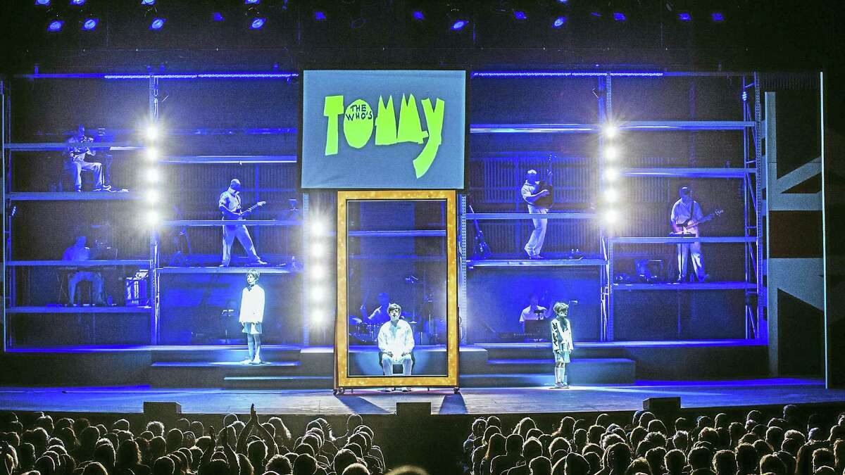 Photo by Mandi MartiniA scene from The Who's Tommy at the Warner Theatre.
